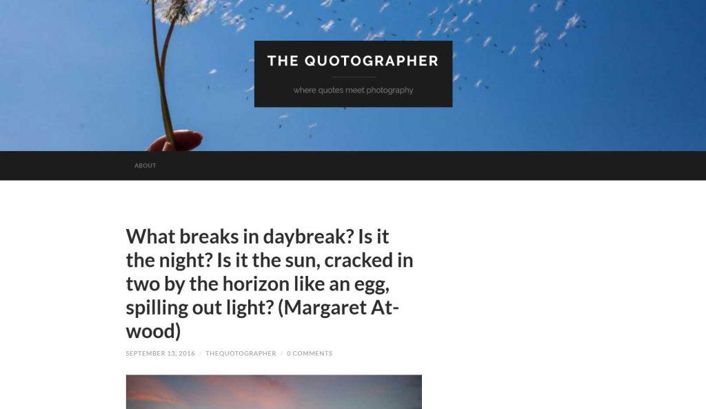 The Quotographer